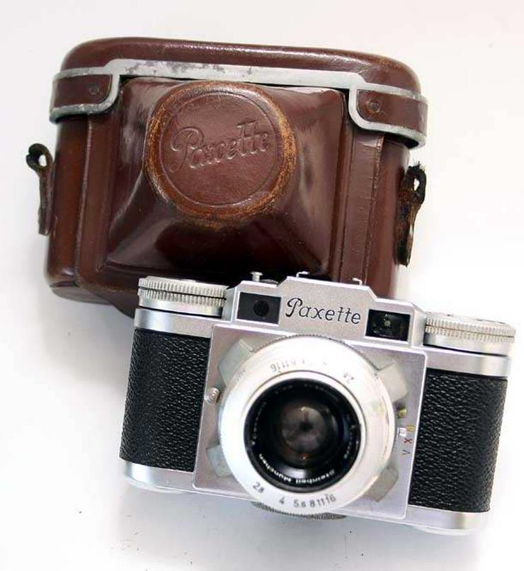 BRAUN PAXETTE Objektiv STEINHEIL Cassarit 1:2.8 -45mm +Tasche