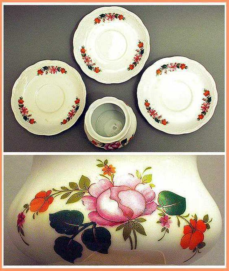 Geschirr von MITTERTEICH BAVARIA - Zuckerdose + 3 Unterteller - Kaffeegeschirr & Teegeschirr - Bild 1