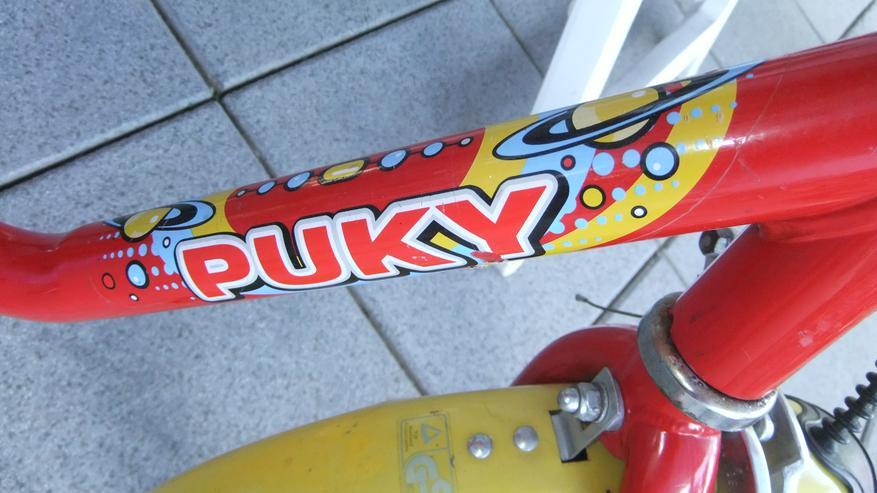 Bild 2: Kinderfahrrad 16 Zoll von Puky rot Versand auch möglich
