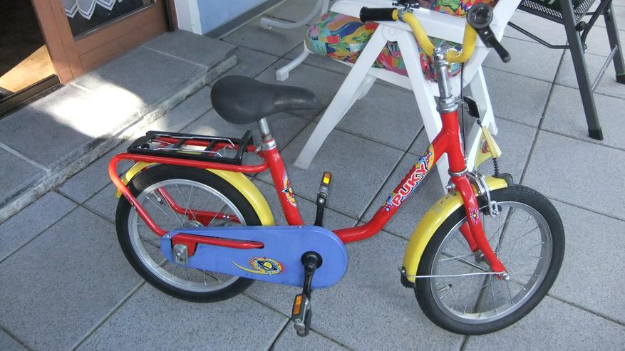 Kinderfahrrad 16 Zoll von Puky rot Versand auch möglich - Kinderfahrräder - Bild 1