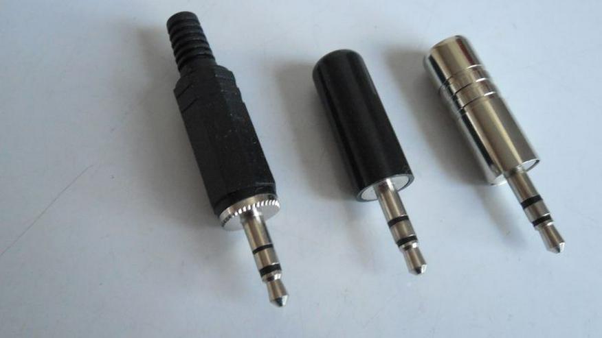Klinken-Stecker Klinken-Einbaubuchsen