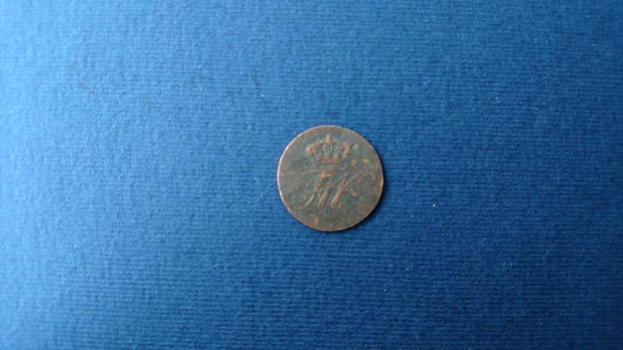 Bild 2: Verkaufe 1 Schilling - Münze aus dem Jahr 1810. incl. Versand