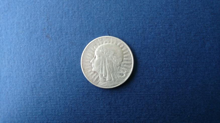 Bild 5: Verkaufe 10 Zloty - Silbermünze  von 1932 (Polonia). incl. Versand