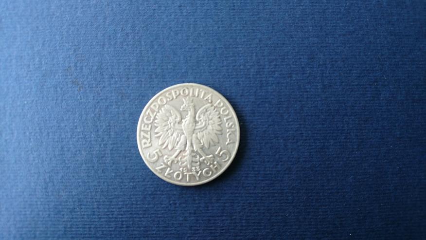Bild 6: Verkaufe 10 Zloty - Silbermünze  von 1932 (Polonia). incl. Versand