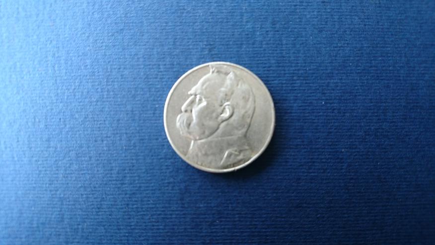 Bild 3: Verkaufe 10 Zloty- Sielbermünze von Jahre 1936. incl. Versand
