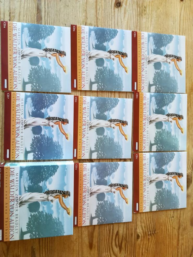 Die Wälder von Albion, Marion Zimmer Bradley 8 CD's