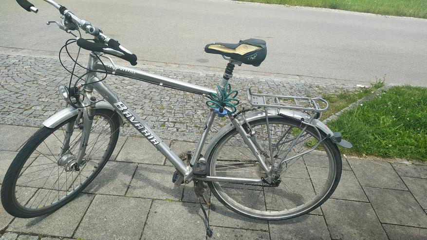 Biete gut erhaltenes Bavaria Alu Prestige Rad - 56/58er Rahmen