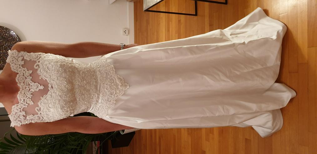 Bild 4: Brautkleid 34/36, Farbe: champagner, Marke St. Patrick, sehr gut erhalten