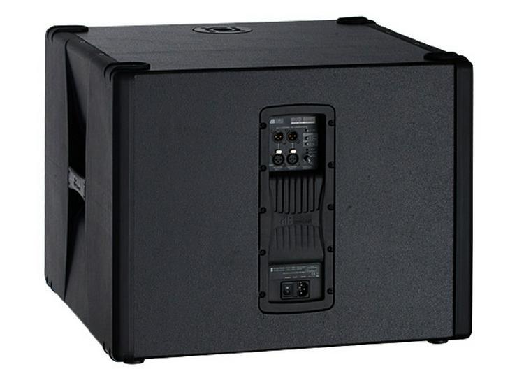 Bild 2: Verleih dB Aktiv Subwoofer SUB 808 I Bass I Box I Woofer