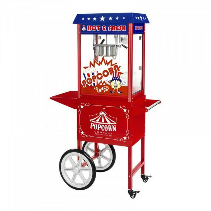Profi-Popcornmaschine mieten jetzt auch in Ulm und um Ulm herum