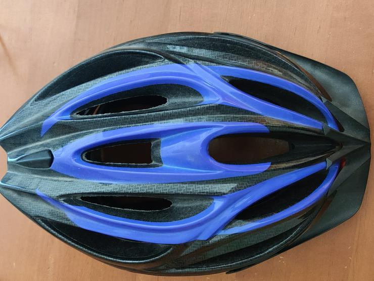 Fahrradhelm Blau an Selbstabholer