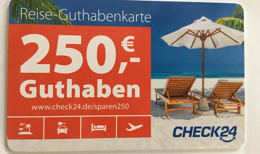 250 Euro Rabatt Urlaub über Check 24