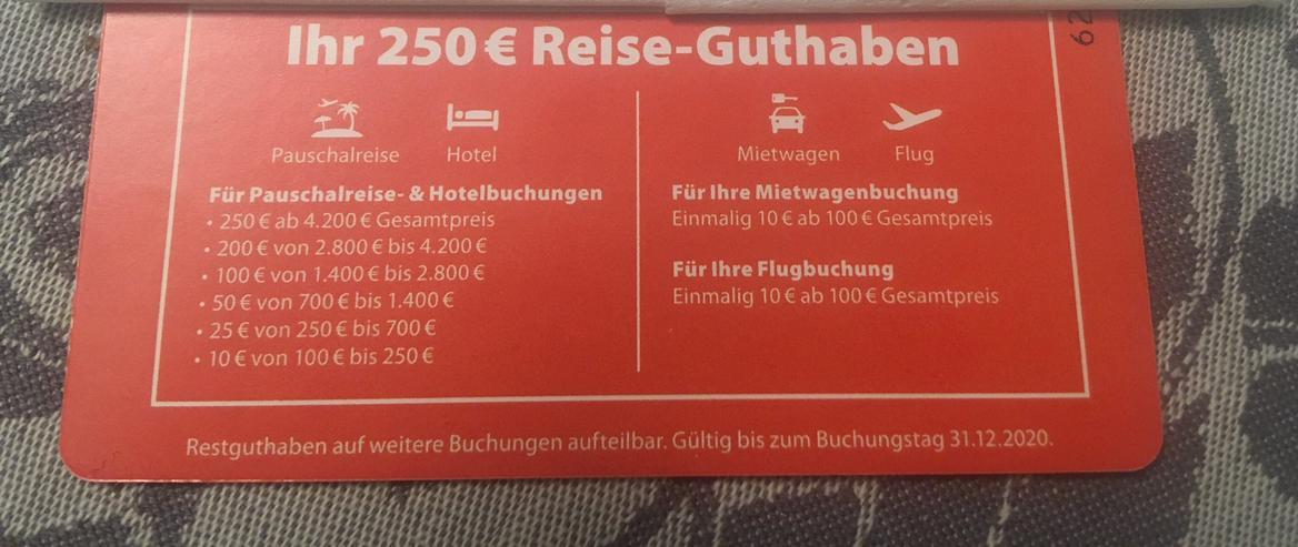 Bild 2: 250 Euro Rabatt Urlaub über Check 24