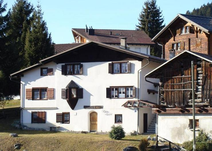 Ferienhaus in den Schweizer Bergen