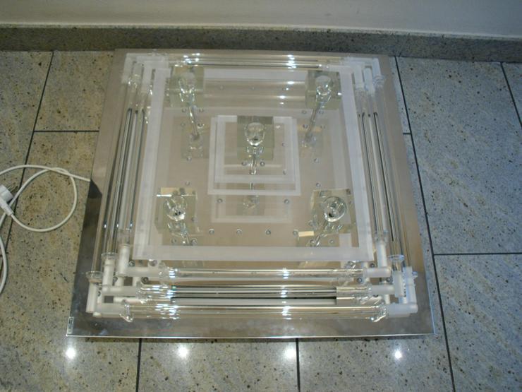 Led / Neon Deckenlampe -TechliCo - 70 x 70 cm Farbwechsel mit Fernbedienung