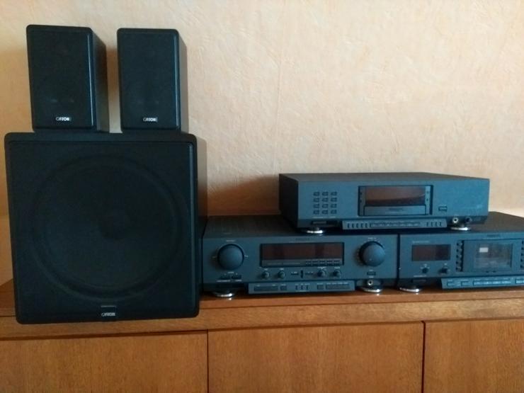 PHILIPS HI-FI Stereo Anlage Set bestehens aus ReceiverFR 930 - Tapedeck FC 950 - CD Player CD 940 -