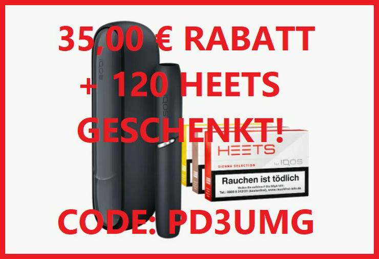 Bild 2: Hol dir 35€ IQOS-Rabatt und Heets im Wert von 36€ für deine IQOS 3 DUO - PD3UMG