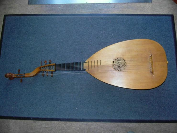 Laute von Hermann Hauser 2 II 1911 Gitarrenlaute