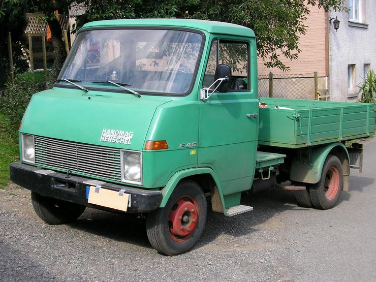 Oldtimer LKW Zugmaschine