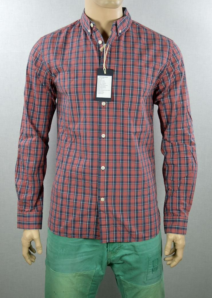 Jack & Jones Lenny Shirt Hemd Gr.L Hemden Shirts 2-1189