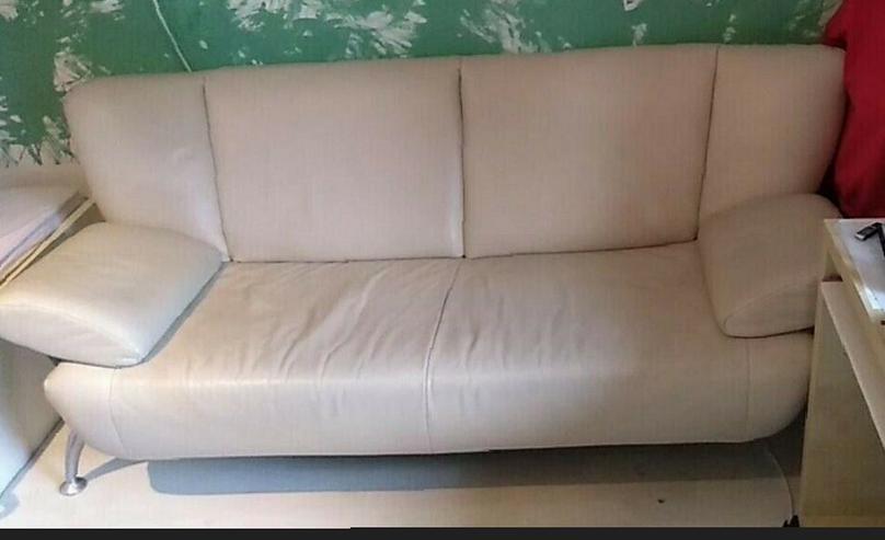 Couch ,2,5 Sitzer, cremeweiß