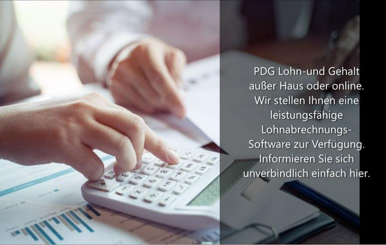 PDG Lohn und Gehalt außer Haus oder online