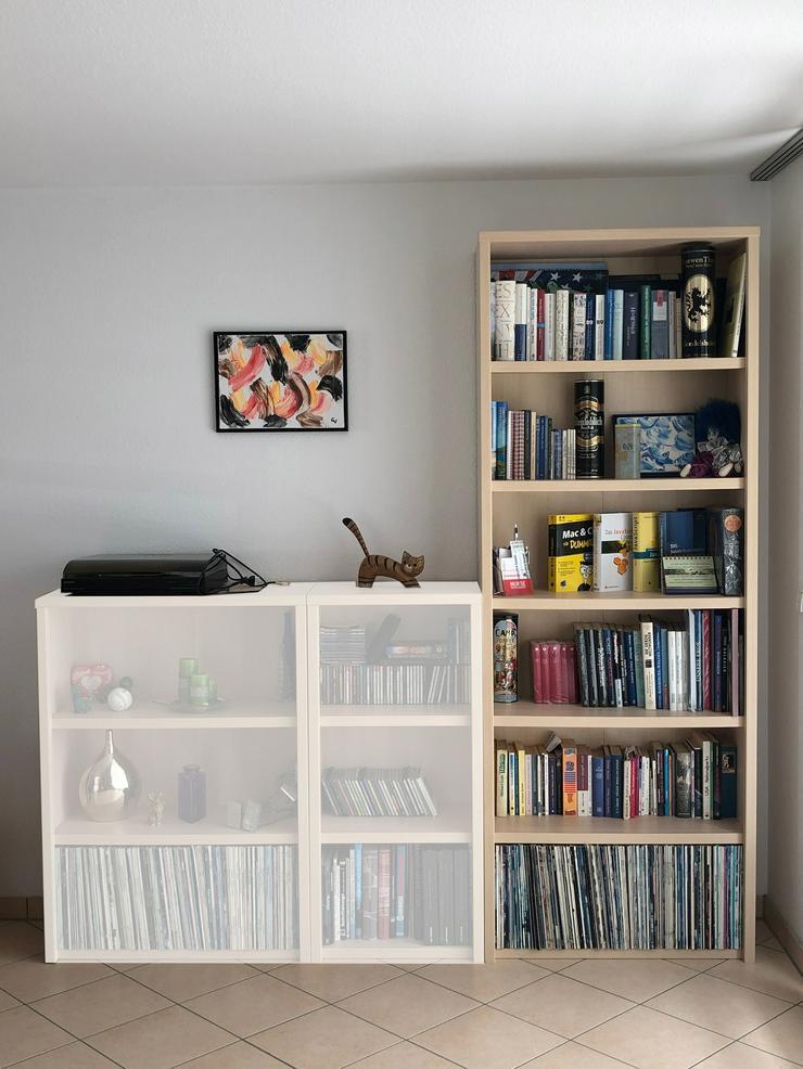 Wohnzimmer-Regal (Breite 80 cm, Höhe 214 cm)