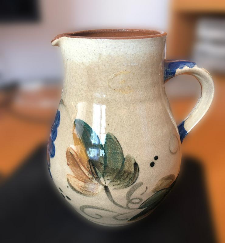 Steinkrug, Handarbeit, ca. 1, 4 Liter