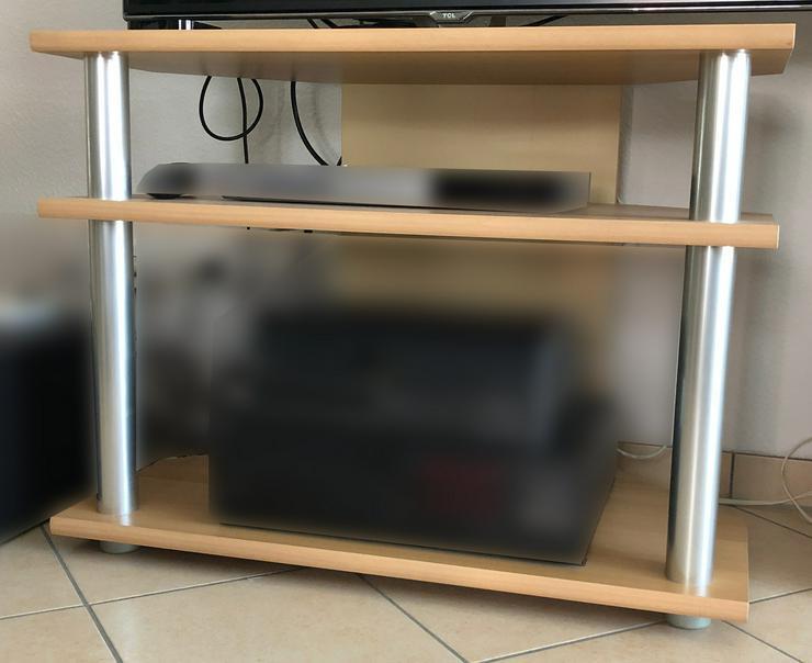 TV-Tisch in Buche Nachbildung