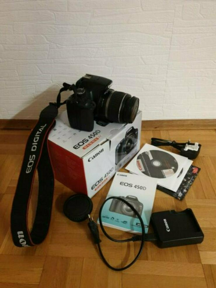 Canon EOS 450D / EOS Digital Rebel XSi 12.2MP Digitalkamera OVP
