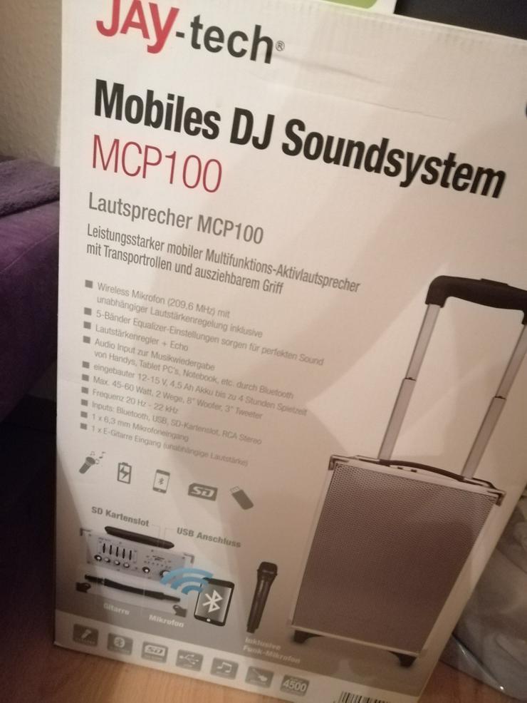 JayTech MCP100 Mobiles DJ Soundsystem MCP 100