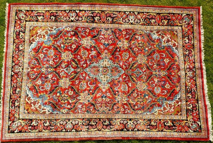 Orientteppich Saruk-Mahal 19te Jh. TOP (T082)