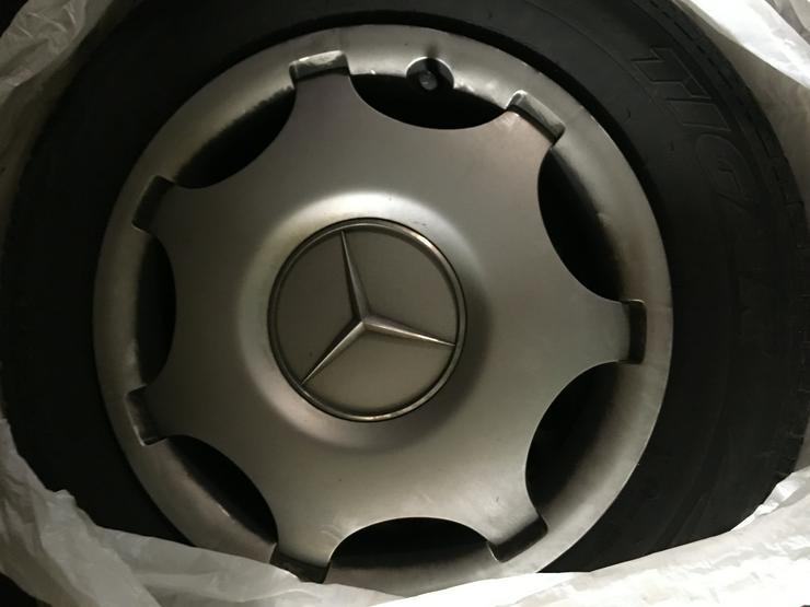 Komplett Sommerreifen,Mercedes Radkappen - Sommer-Kompletträder - Bild 1