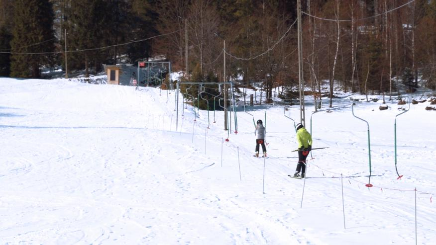 Der Skilift POLGLOB 2B - 200m
