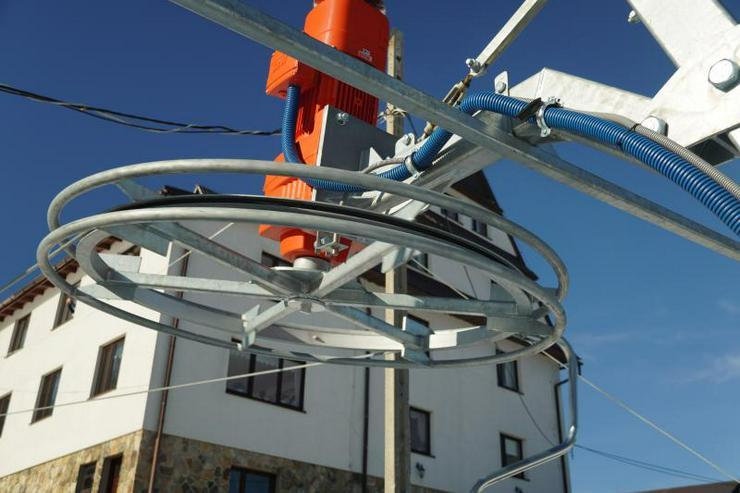 Bild 3: Der Skilift POLGLOB 2B - 200m