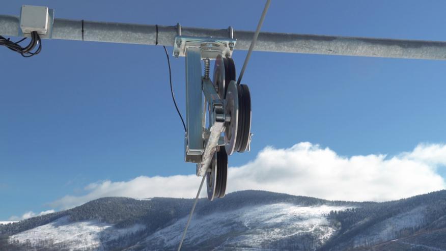 Bild 2: Der Skilift POLGLOB 2B - 200m