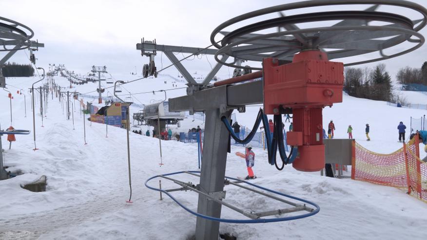 Bild 4: Der Skilift POLGLOB 1T/H - 300m TUV und TDT Zertifikat