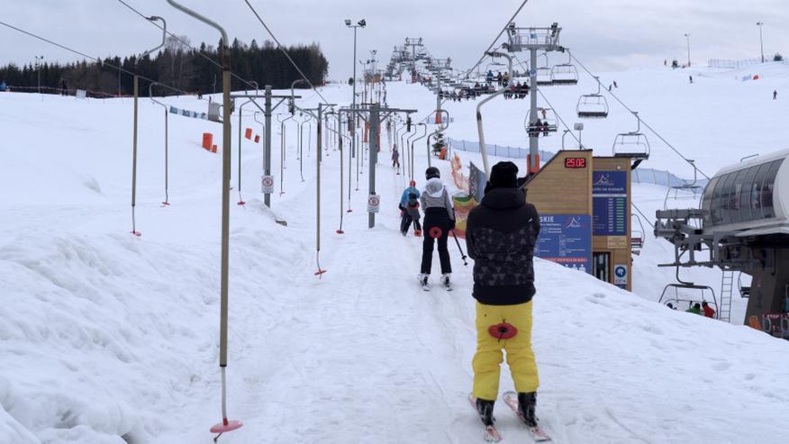 Der Skilift POLGLOB 1T/H - 300m