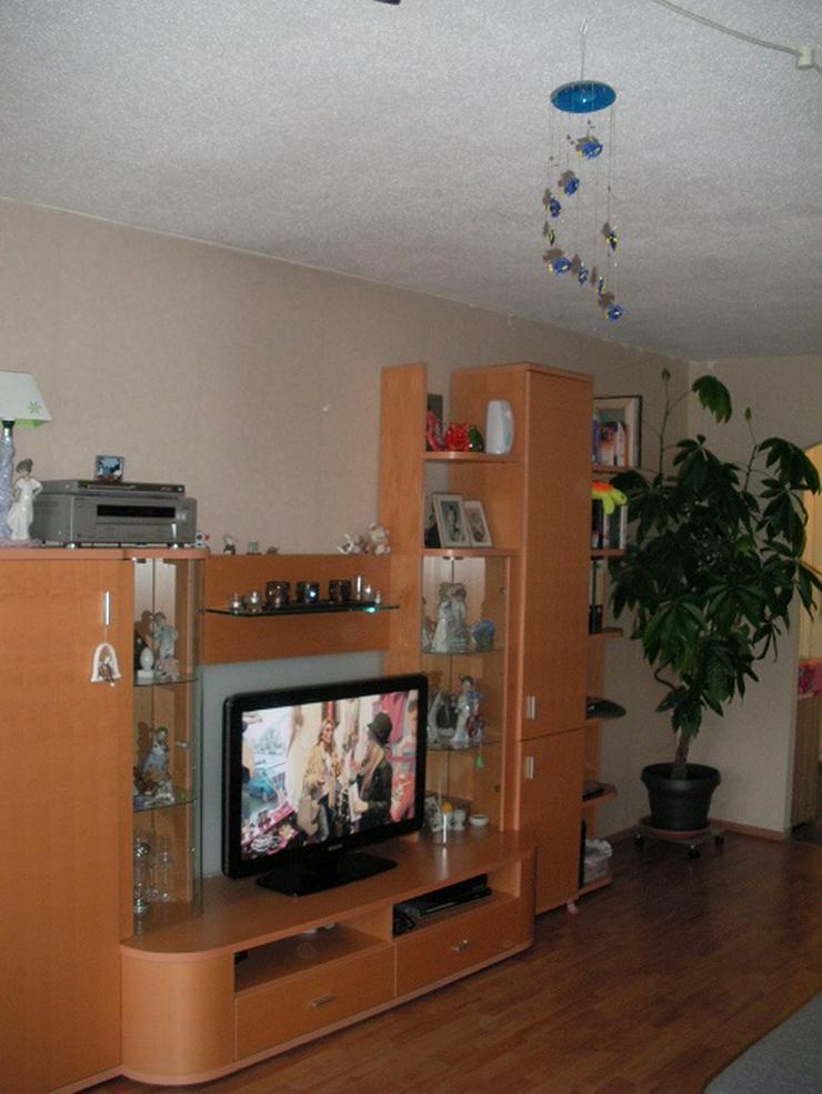 Wohnzimmerschrank Kirschholz massiv 3,50 m - Schränke & Regale - Bild 1