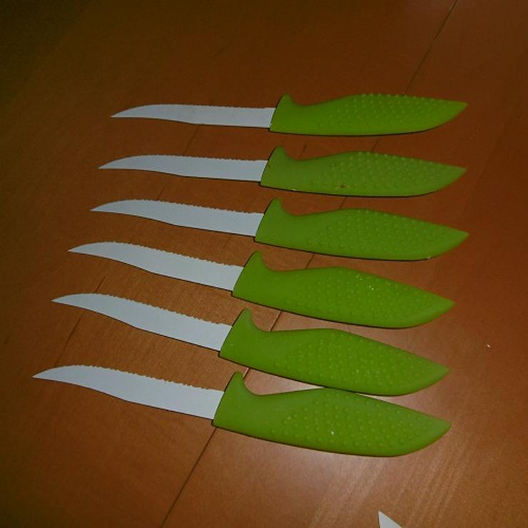 Bild 3: Messerblock mit Keramikmesser und Schere 15 Teilig