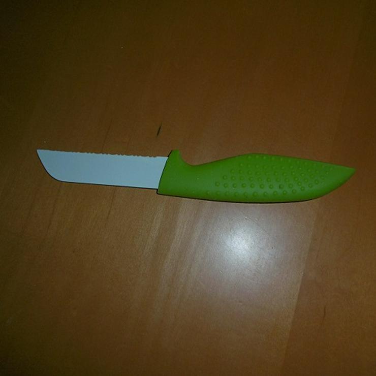 Bild 6: Messerblock mit Keramikmesser und Schere 15 Teilig