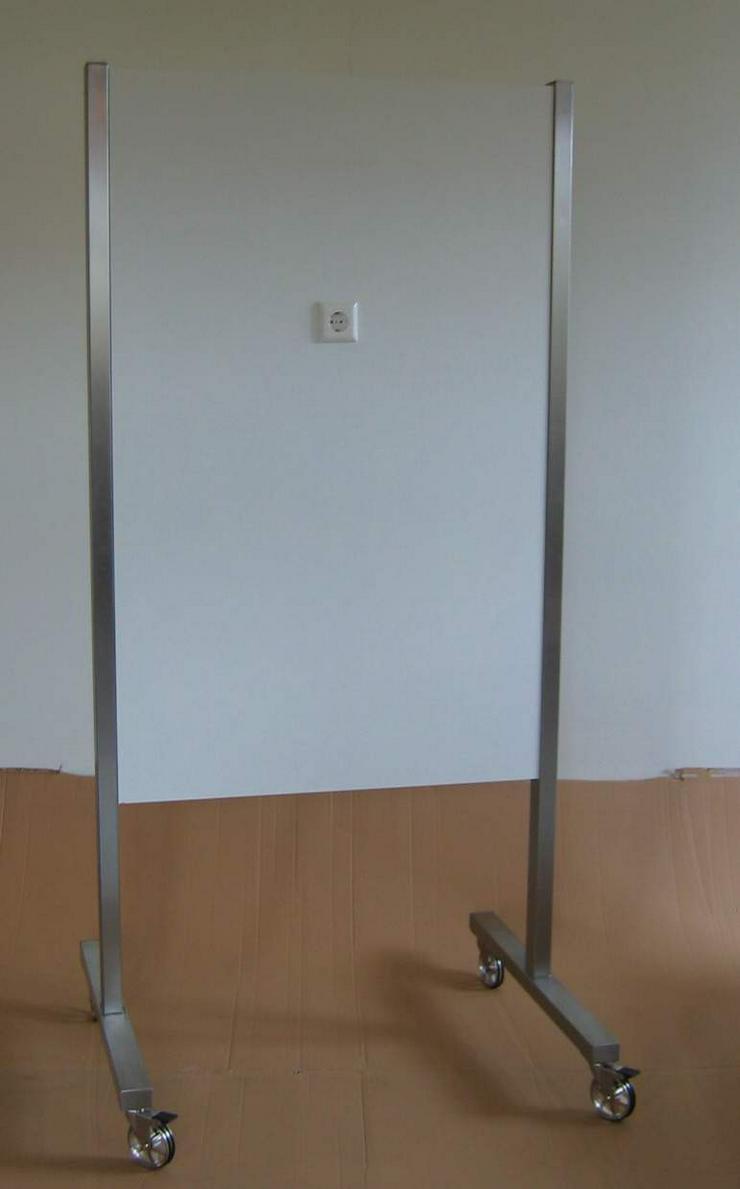 Bild 2: Trennwand, Präsentationswand, Stellwand, Raumteiler, Display fahrbar