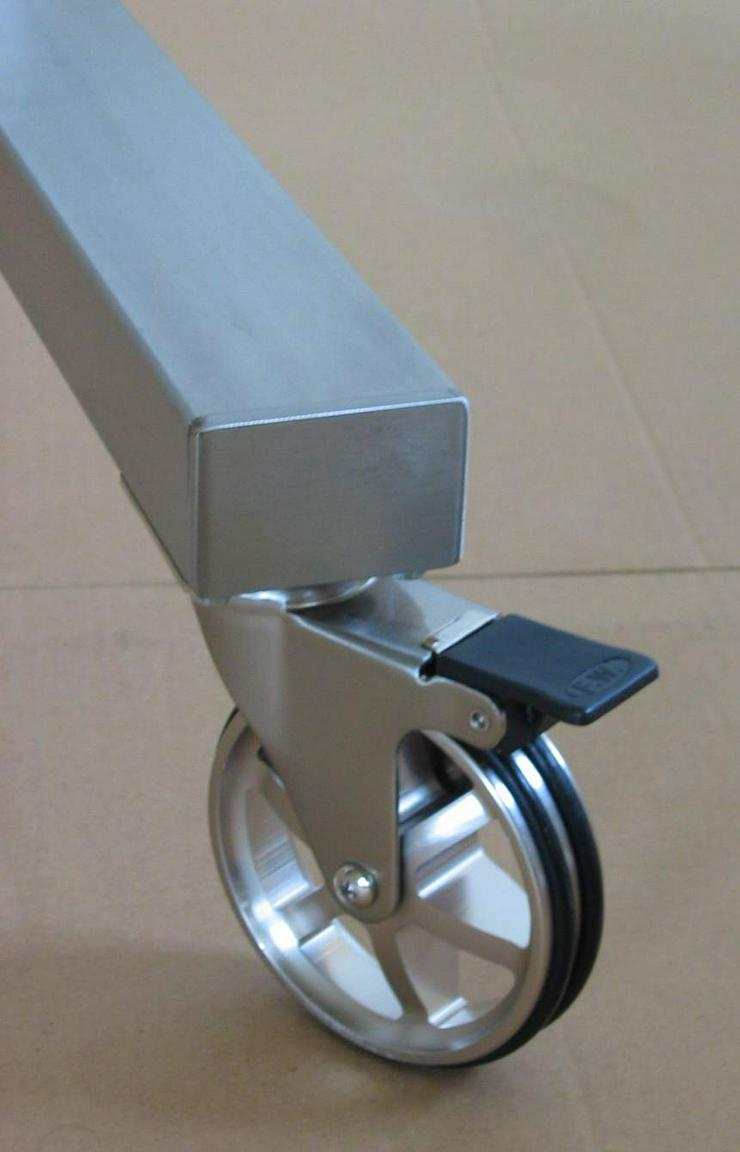 Trennwand, Präsentationswand, Stellwand, Raumteiler, Display fahrbar - Regale & Einrichtung - Bild 1