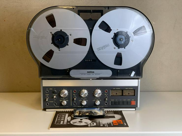 Revox Studer B77 MKII 4-Spur seltenes Tonbandgerät