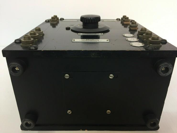 Bild 4: Telefunkon C - D-Zug, Telefunken, 2x Röhre RE11