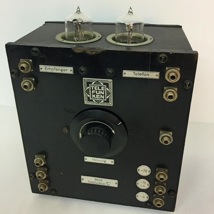 Telefunkon C - D-Zug, Telefunken, 2x Röhre RE11 - Weitere - Bild 1