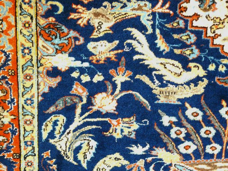 Bild 6: Orientteppich Teheran Wolle/Seide antik TOP (T085)
