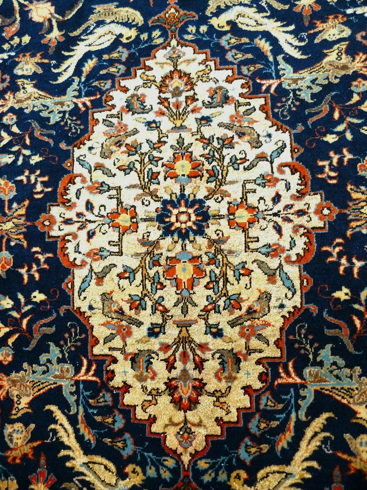Bild 2: Orientteppich Teheran Wolle/Seide antik TOP (T085)