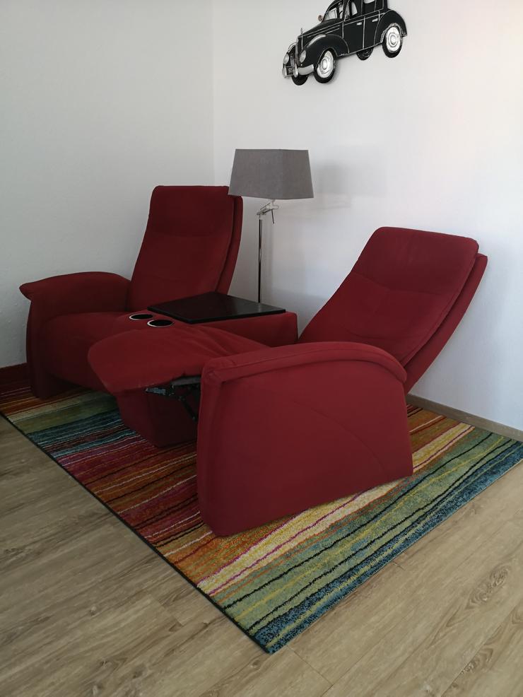 Bild 3: Fernsehsessel mit Relaxfunktion