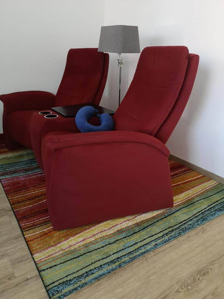 Bild 2: Fernsehsessel mit Relaxfunktion